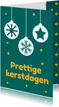 Jeugdfonds Sport & Cultuur kerstkaart kerstbal