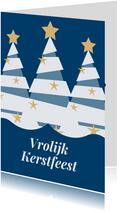 Jeugdfonds Sport & Cultuur kerstkaart kerstboom
