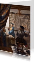 Johannes Vermeer. De schilderkunst
