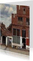 Johannes Vermeer. Het straatje in Delft
