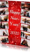 Jouw eigen jaar collage - BK