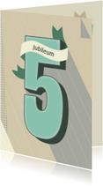 Jubileum-5 vijf jaar!-HK