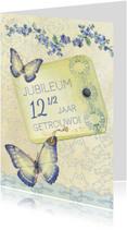Jubileum Scrapbook 12,5 vlinders - SG