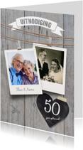 Jubileumkaart 50 jaar