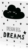 "Kaart ""Dream big dreams"" - WW"