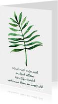 "Kaart ""Leaf"" Opwekking 695 - WW"