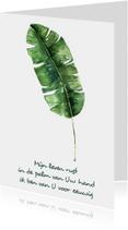 "Kaart ""Leaf"" Opwekking 697 - WW"