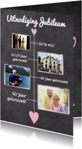 Kalender krijt jubileum - BK
