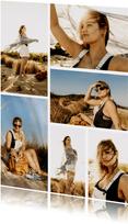 Karte Fotoserie sechs Fotos
