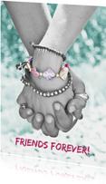 Karte zur Freundschaft Friends forever