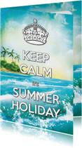 Keep Calm Summer Holiday Palm - SG