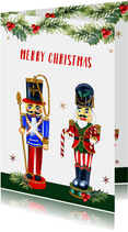 Kerst notenkrakers takjes