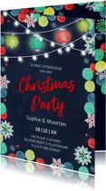 Uitnodiging Kerstdiner Kerstfeest