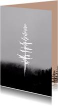 Kerstkaart boom winter-HM