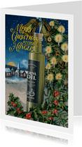 Kerstkaart én olijfolie voor mensen in armoede