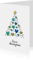 Kerstkaart - Lieve kerstgroet