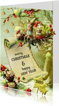 Kerstkaart - Lovely Christmas Card 2020