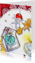 Kerstkaart muizen kerstkaart 3