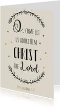 Kerstkaart Opwekking 529 (2)- WW