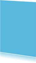 Kies je kleur blauwe staande kaart