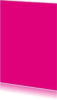 Kies je kleur fuchsia staande kaart
