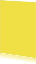 Kies je kleur gele staande kaart