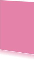 Kies je kleur roze staande kaart