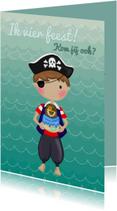 Kinderfeest Piraatje