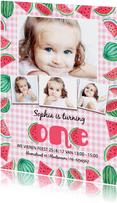 Kinderfeestje 1 jaar watermeloen