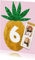 Kinderfeestje ananas pasfoto