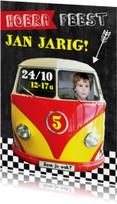 Kinderfeestje autobusje Jan