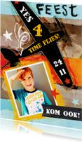 Kinderfeestje jongen foto ster
