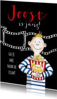 Kinderfeestje - jongen met popcorn