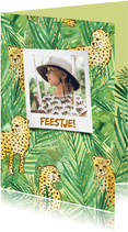 Kinderfeestje jungle jachtluipaarden