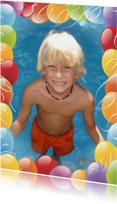 Kinderfeestjes - Kinderfeestje met uitnodigingsslinger