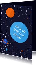 Kinderfeestje Outer Space jongen