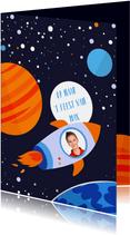 Kinderfeestje Space