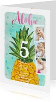 Kinderfeestje Tropisch Ananas