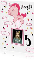 Kinderfeestje unicorn foto