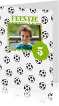 Kinderfeestje voetbal en foto