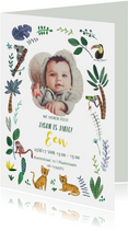 Kinderfeestje Een jaar tijgers