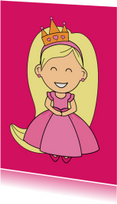 kinderkaart - prinses - MG