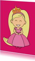 kinderkaart - prinses - MG