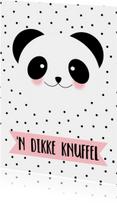 Knuffel Panda - WW