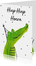 Krokodillen verjaardag