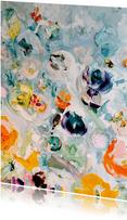 Kunst bloemen paletstukken rh