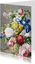 Kunstkaart Bloemstuk, Cornelis Ploos van Amstel
