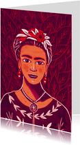 Kunstkaart Frida Kahlo