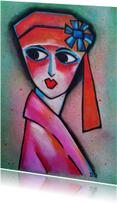 Kunstkaart Margot