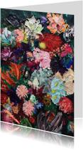 Kunstkaart print van schilderij Weelderig